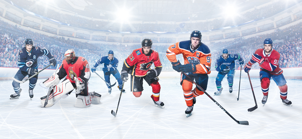 Sportsnet is Canada's Home of Hockey and the exclusive national broadcast partner of the NHL Promo Banner
